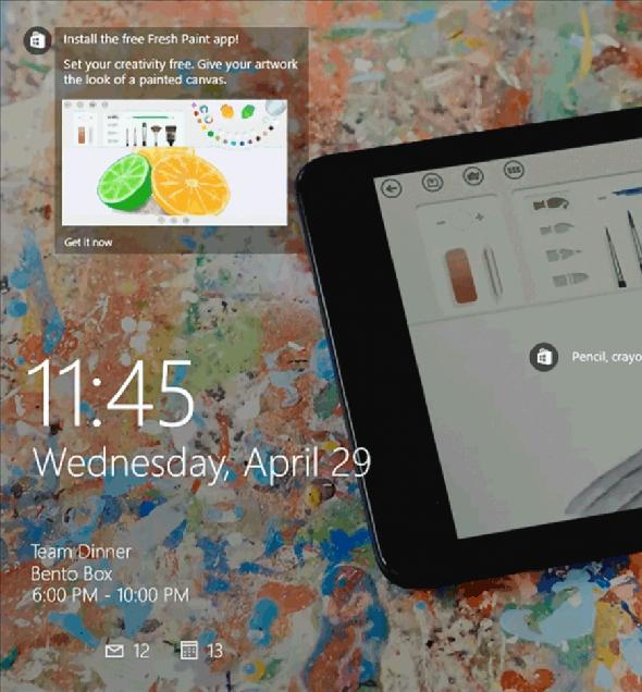 新しいアプリのインストールを勧めるCortanaのサジェスト機能
