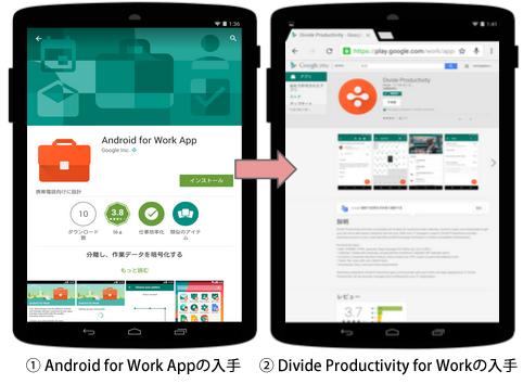 Android 4.0〜4.4の設定の流れ