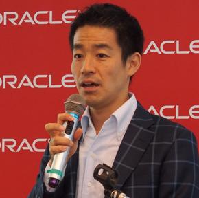日本オラクル クラウド・テクノロジー事業統括 PaaS事業推進室 室長 竹爪慎治氏