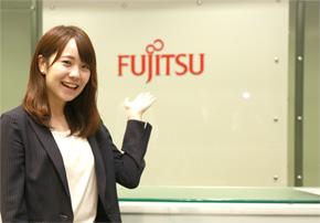 今回の取材では「富士通」さまを訪問しました