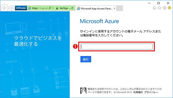 Azure ADとAD FSで連携していてもIDの入力だけは求められる