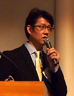 テクマトリックス ネットワーク営業部 部長の西脇一郎氏