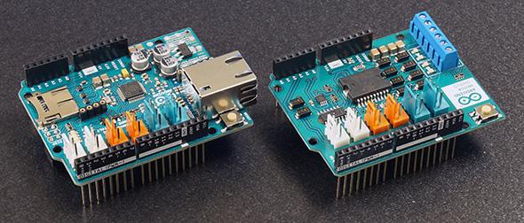 Arduinoシールドの例