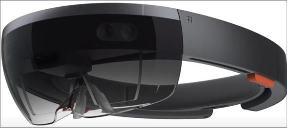 図1 Microsoft HoloLens