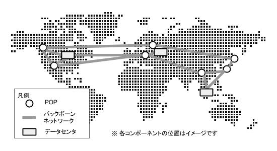 Googleの海底ケーブルネットワークとPOP