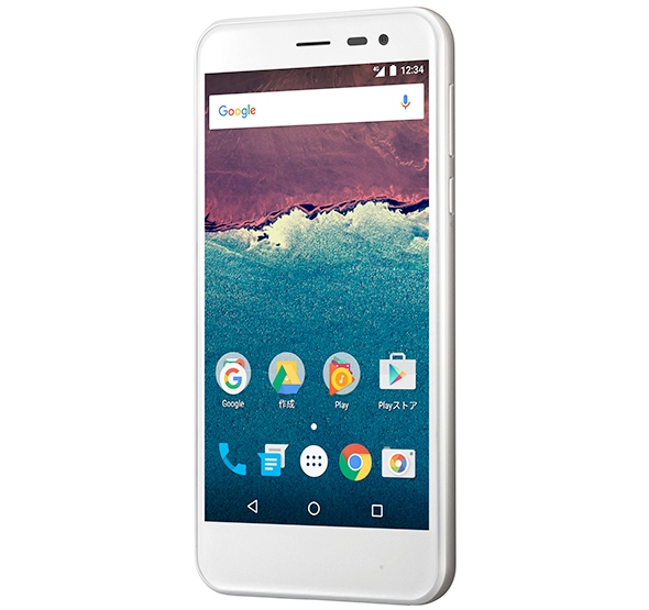 Y!mobileの「Android One」採用スマートフォン「507SH」