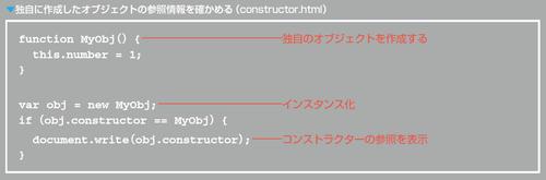 独自に作成したオブジェクトの参照情報を確かめる(constructor.html)