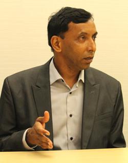 Attivo Networks エンジニアリング担当シニアバイスプレジデント スリカント ヴィサムセティ(Srikant Vissamsetti)氏