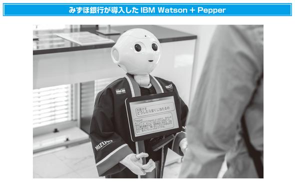 みずほ銀行が導入したIBM Watson+Pepper