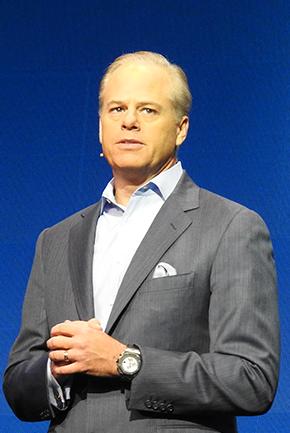 CA Technologies CEO Mike Gregoire(マイク・グレゴア)氏