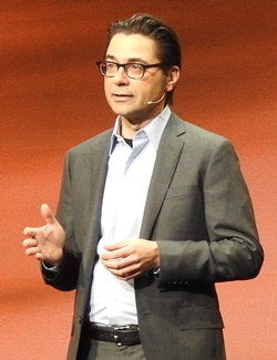 CA Executive Vice President and Chief Technology Officer Otto Berkes(オットー・バークス)氏