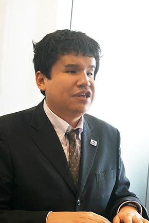 ラック サイバー・グリッド・ジャパン 次世代技術開発センター 外谷 渉さん