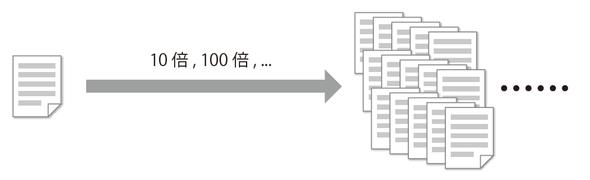 図2-9 データは爆発的に増えていく可能性がある