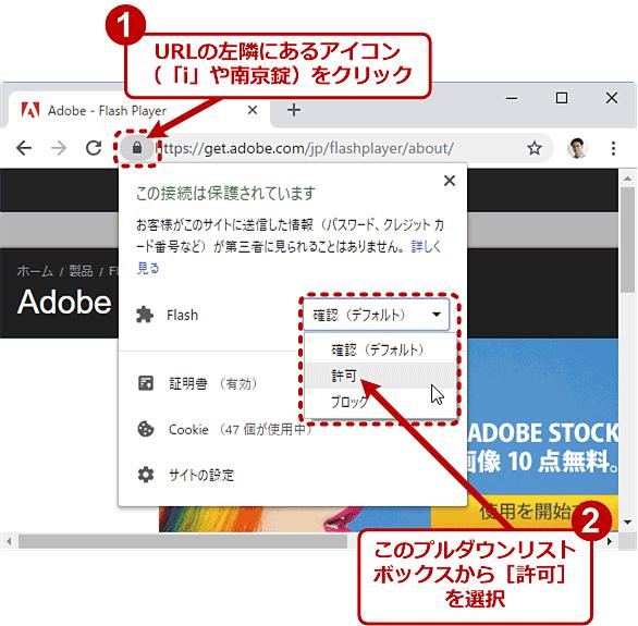 google chromeでflash playerを更新する google chrome完全ガイド it