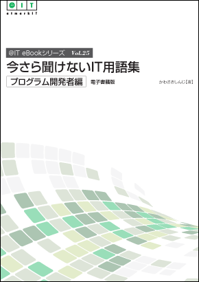 @IT eBookシリーズ Vol.25『今さら聞けないIT用語集[プログラム開発者編]』