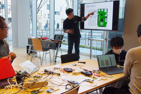決勝大会と同時に、九州大会の問題をベースにした「IoT CTF Challenge」も行われた