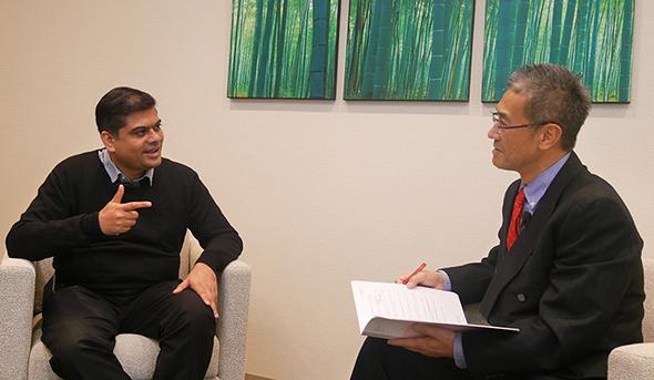 Graymatics CEO、Abhijit Shanbhag