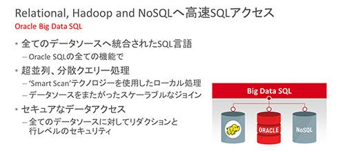 RDB以外にHadoop、NoSQLへの高速SQLアクセスを実現する「Oracle Big Data SQL」