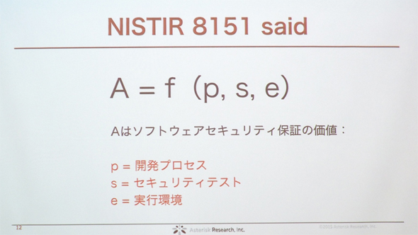 NISTIR 8151「Dramatically Reducing Software Vulnerabilities」より