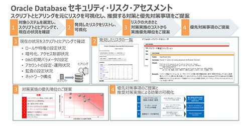 Oracle Databaseセキュリティリスクアセスメントの内容