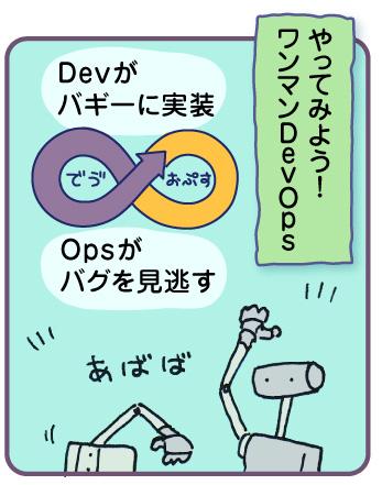やってみよう!ワンマンDevOps Devがバギーに実装 Opsがバグを見逃す