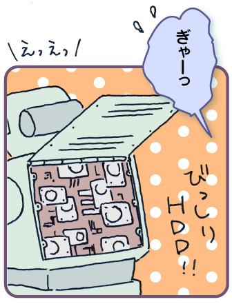 ぎゃーっ びっしりHDD!
