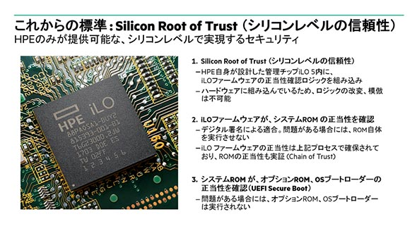 これからの標準「Silicon Rot of Trust」