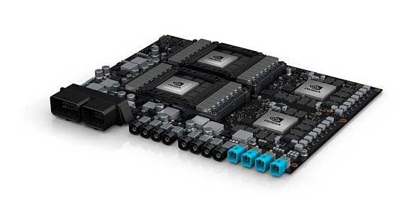 NVIDIAの自動運転向けプラットフォーム「NVIDIA DRIVE PX Pegasus」