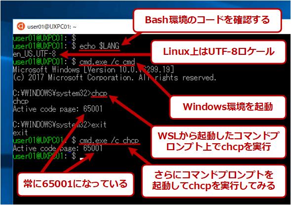 WSL環境のロケール/文字コード設定