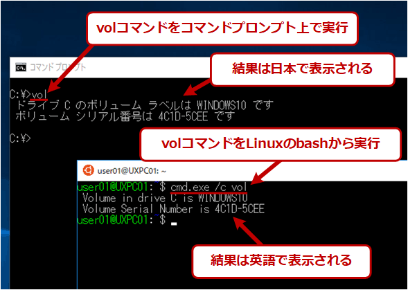 WindowsコマンドをUTF-8で使うと?