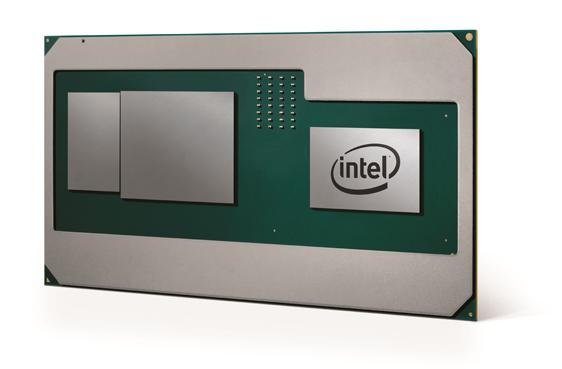 Intelの第8世代のCoreプロセッサとAMDのGPUを組み合わせたモジュール