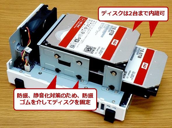 DS218jの内部