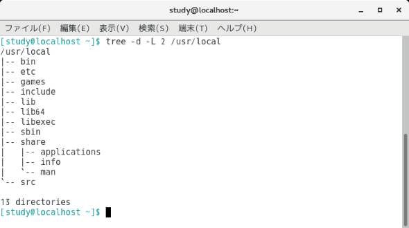 Windows tree コマンド