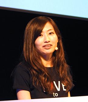実演デモで登壇した日本マイクロソフトの原綾香氏
