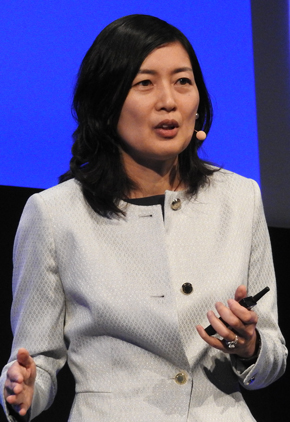 Microsoft Corporate Vice President of the Developer Division ジュリア・リウソン(Julia Liuson)
