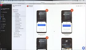 一度に100以上を超えるスマートフォンでのUIテストができる