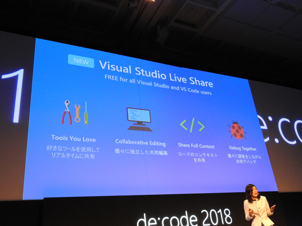 「Visual Studio Live Share」
