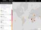 世界地図上でインターネット稼働状況の健全性を追跡できる——Oracleが「Internet Intelligence Map」を公開