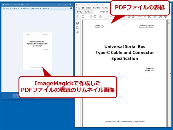 ImageMagickでPDFファイルの表紙からサムネイル画像を作成する処理