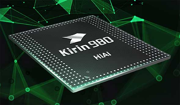 HuaweiのHUAWEI Mate 20などに搭載されている「Kirin 980」