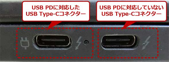 USB PDに対応したUSB Type-Cコネクター