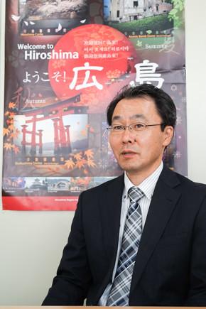 広島県 商工労働局 イノベーション推進チーム担当課長 長谷川達也氏