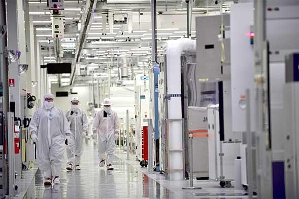 Intelのオレゴンにある製造工場