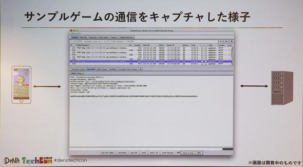 DeNAでは内製ツール「PacketProxy」を用いてパケット改ざんが出来るかどうか診断しているという