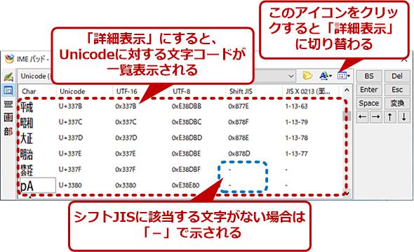 文字コードを調べる(1)