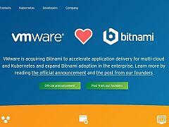 VMwareがBitnami買収へ、アプリケーションビルダーへの取り組みを強化
