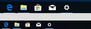 小さいタスクバーボタンを使う(2)