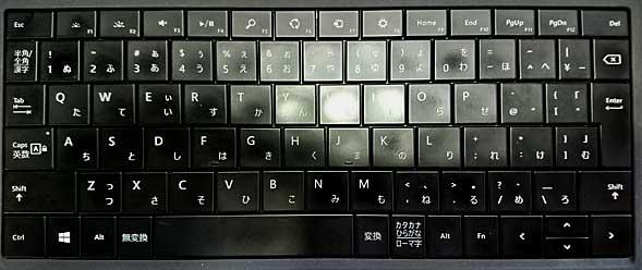 Surface Pro 3のタイプカバーキーボード