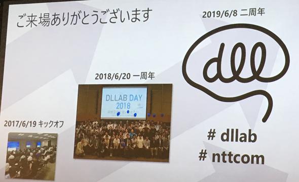 図5 DLLABにおいてキックオフ/1周年/2周年という節目のイベント