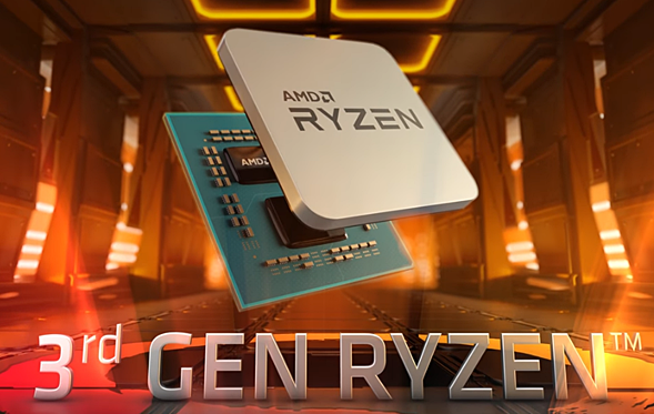 第3世代AMD Ryzenのイメージビデオ